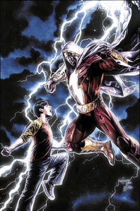 Billy Batson and Shazam